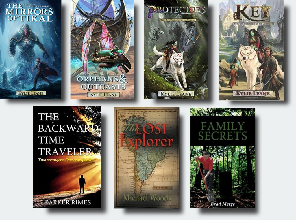 Covers of books edited by Elle Carter Neal